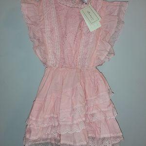 Trish Scully Child Ruffled Dress NWT Girls Size 7